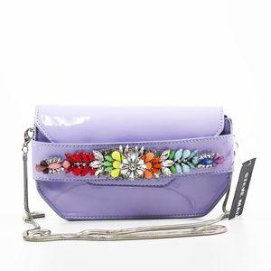 STEVE MADDEN  Lavender Purple Pauline Jewel Mini C
